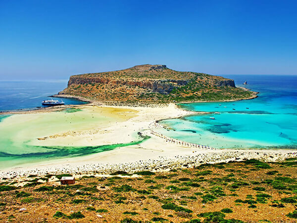 Gramvousa - Balos Beach Stylianos Villa in Kissamos with swimming pool