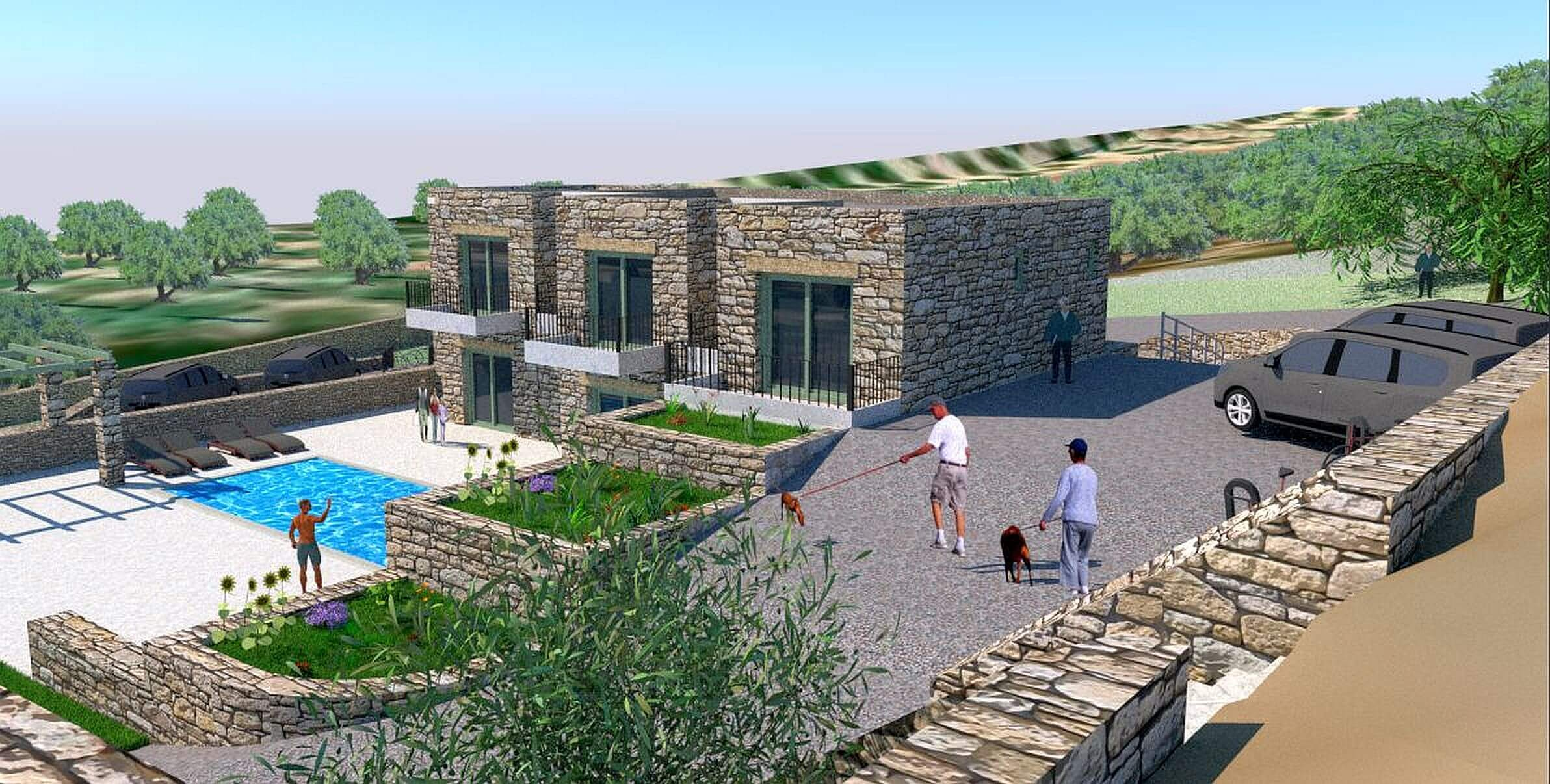 Stylianos Villa in Kissamos with swimming pool